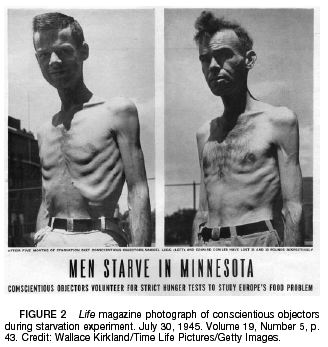 Starvation subject minnesota experiment