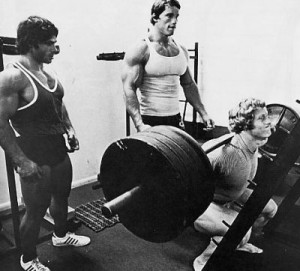 Arnold and the boys knew that the workout was king for muscle building