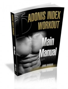 Adonis Index Workout Main Manual
