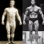 Eugen Sandow vs Arnold Schwarzenegger - Gold Standard Bodybuilders before and after steroids were discovered