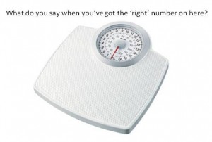 """Why Isn't There a """"Right Weight""""?"""