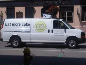 Eat More Cake Van